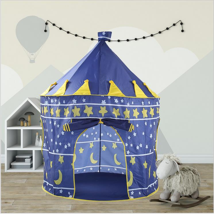 Play Tent Portable Foldable Folding Children Boy Girl Castle Princes Outdoor Gam Fast Color Baby Gear Baby